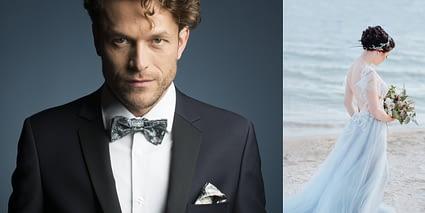 Jak dobrać muszkę do ślubnej stylizacji blog o modzie męskiej ślubne inspiracje